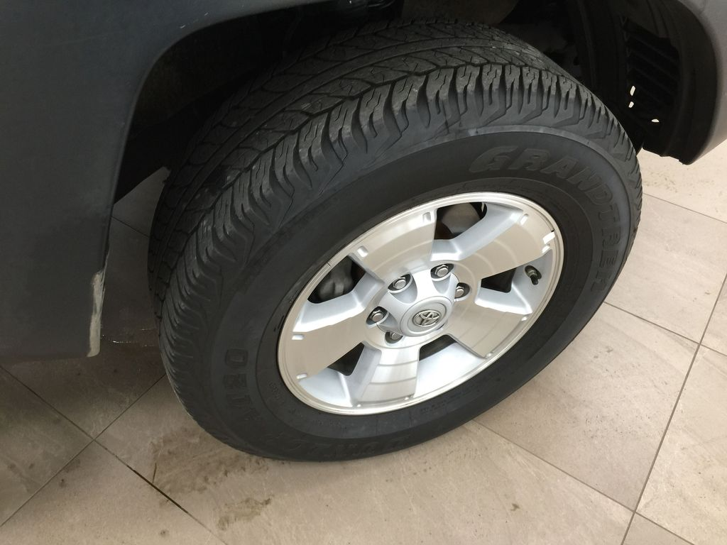 Silver[Silver Streak Mica] 2012 Toyota Tacoma SR5 Double Cab 4x4 Right Front Rim and Tire Photo in Sherwood Park AB