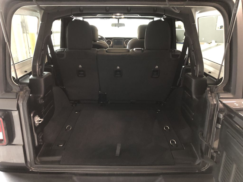 Grey 2020 Jeep Wrangler Unlimited Sport S TV / Special Photo in Edmonton AB