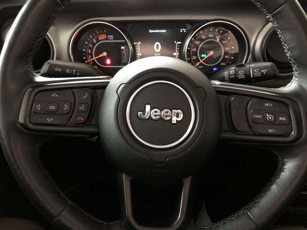 Grey 2020 Jeep Wrangler Unlimited Sport S Right Side Front Seat  Photo in Edmonton AB