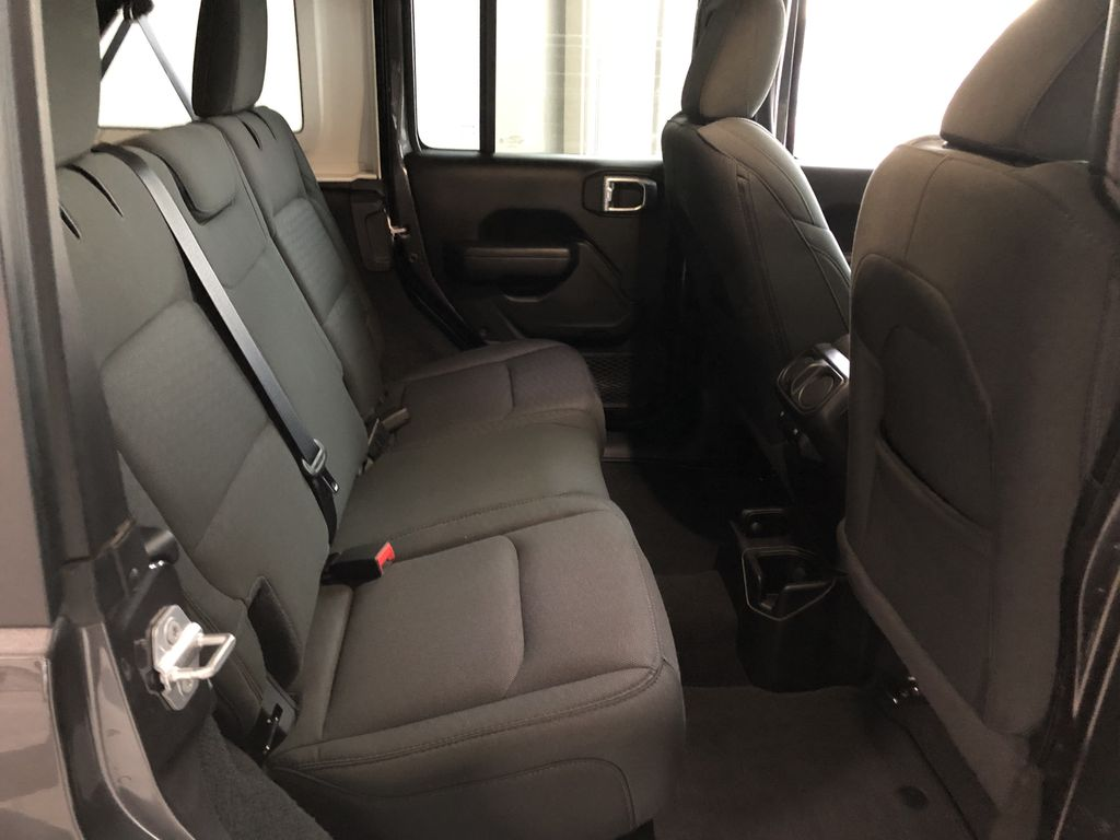 Grey 2020 Jeep Wrangler Unlimited Sport S Left Front Seat Photo in Edmonton AB