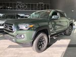 Army Green 2021 Toyota Tacoma 4WD Double Cab Trail (Short Box) Left Side Rear Seat  Photo in Edmonton AB