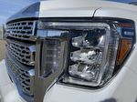 White[Summit White] 2021 GMC Sierra 3500HD Left Front Head Light / Bumper and Grill in Edmonton AB