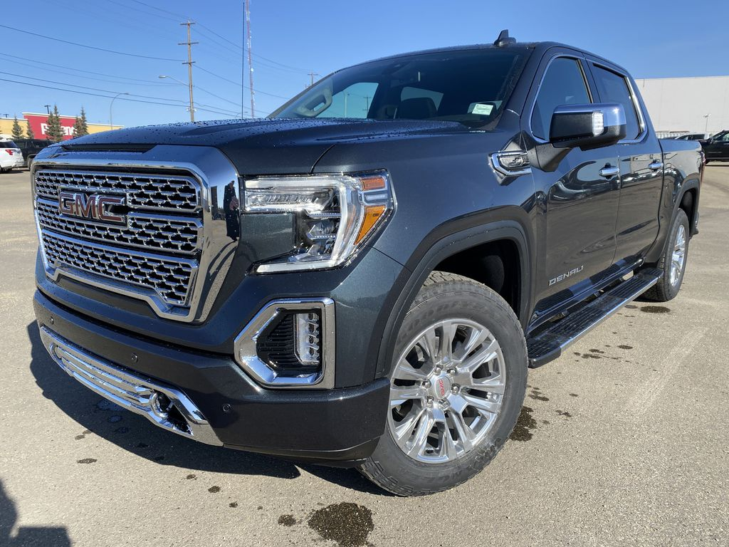 Green[Hunter Metallic] 2021 GMC Sierra 1500 Left Front Corner Photo in Edmonton AB