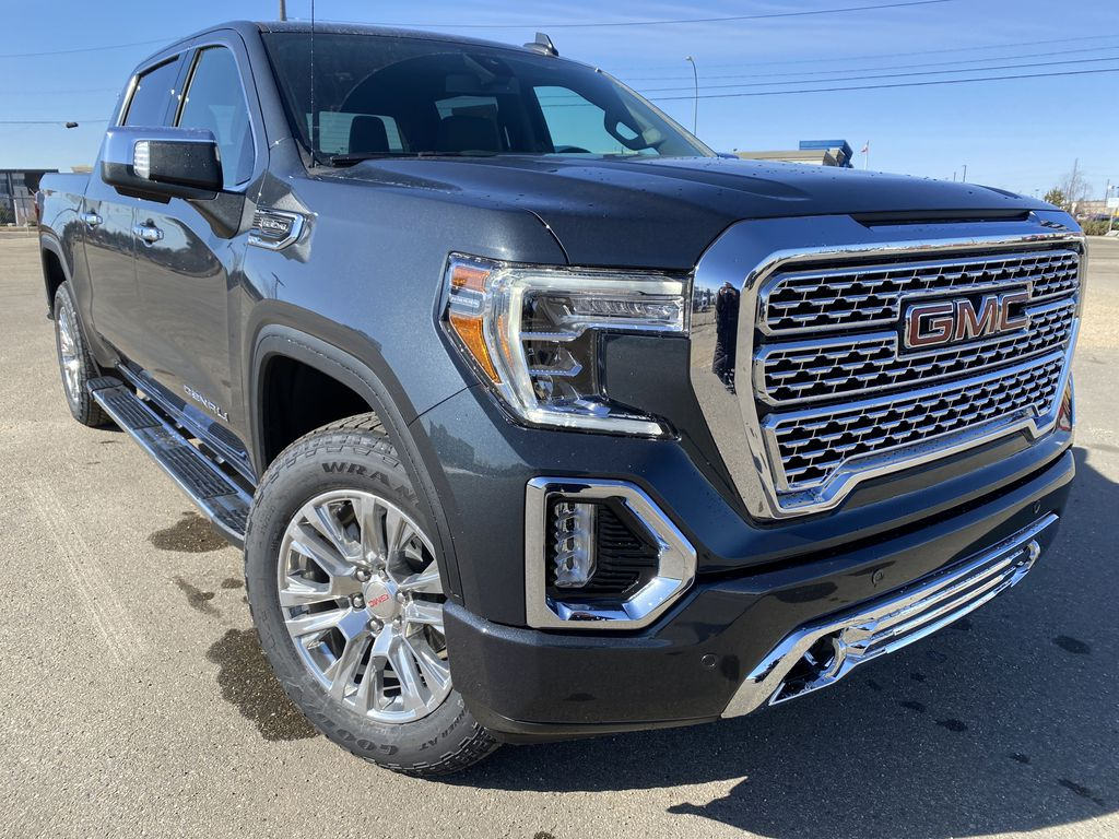Green[Hunter Metallic] 2021 GMC Sierra 1500 Right Front Corner Photo in Edmonton AB