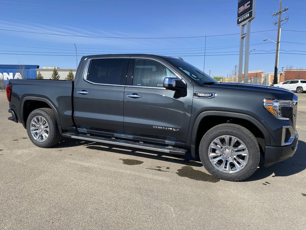 Green[Hunter Metallic] 2021 GMC Sierra 1500 Right Side Photo in Edmonton AB