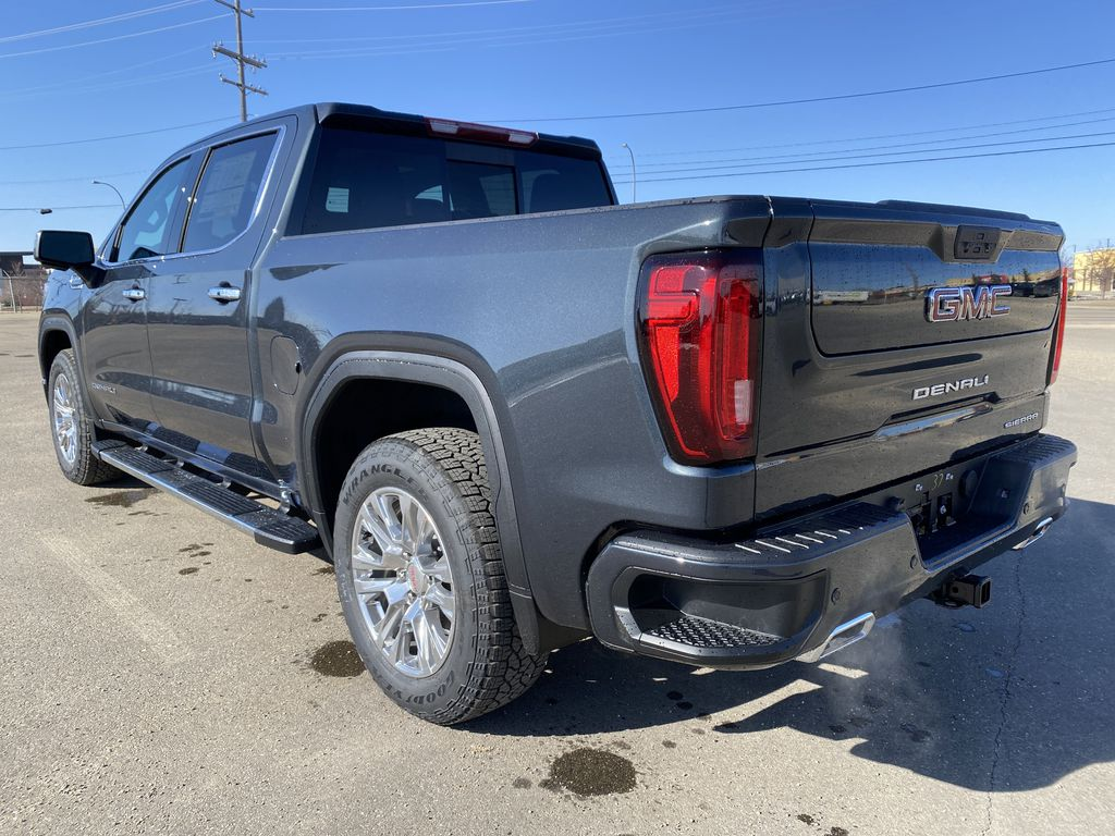 Green[Hunter Metallic] 2021 GMC Sierra 1500 Left Rear Corner Photo in Edmonton AB