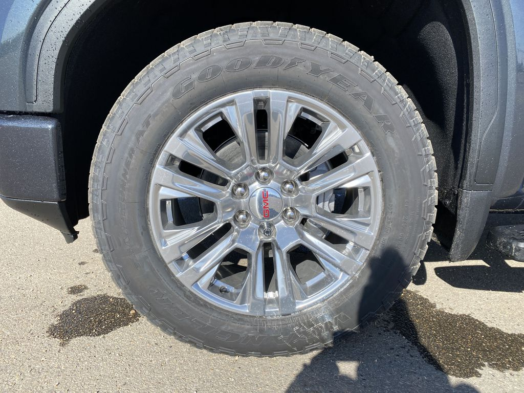 Green[Hunter Metallic] 2021 GMC Sierra 1500 Left Front Rim and Tire Photo in Edmonton AB