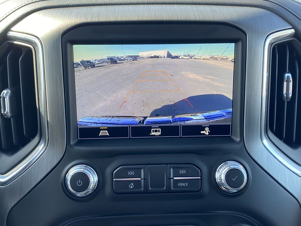 Green[Hunter Metallic] 2021 GMC Sierra 1500 Backup Camera Closeup Photo in Edmonton AB