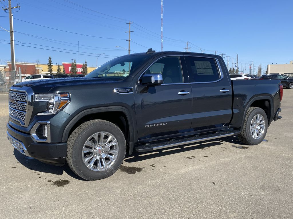 Green[Hunter Metallic] 2021 GMC Sierra 1500 Left Side Photo in Edmonton AB