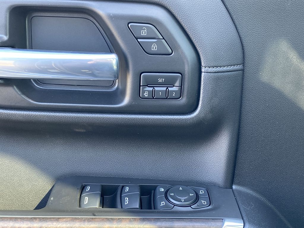 Green[Hunter Metallic] 2021 GMC Sierra 1500  Driver's Side Door Controls Photo in Edmonton AB