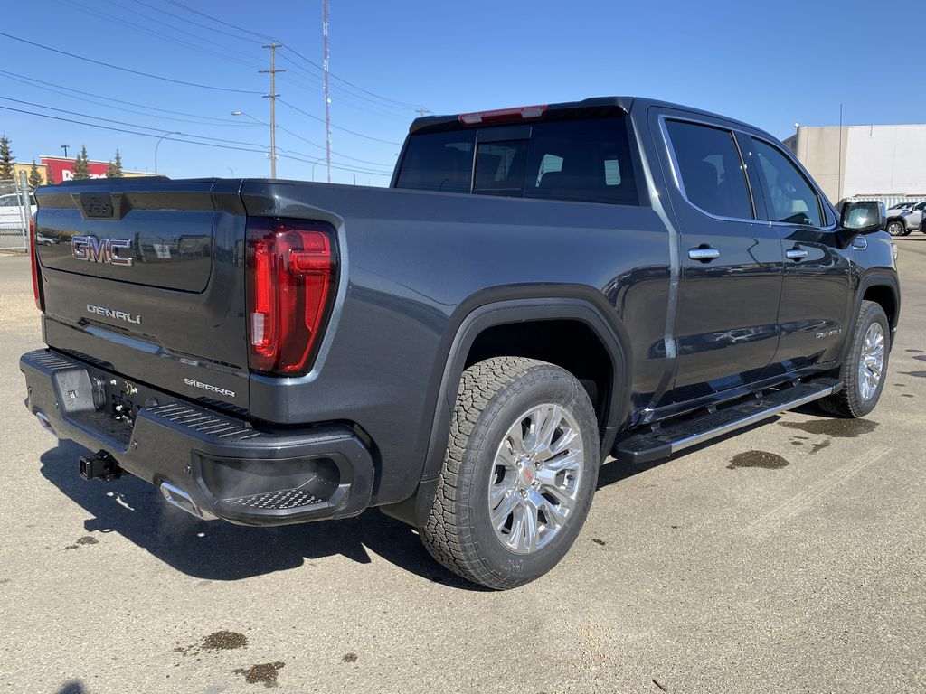 Green[Hunter Metallic] 2021 GMC Sierra 1500 Right Rear Corner Photo in Edmonton AB