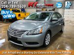 Silver[Brilliant Silver Metallic] 2014 Nissan Sentra S - Automatic, SUPER LOW KMs, CLEAN CarFax Primary Photo in Winnipeg MB