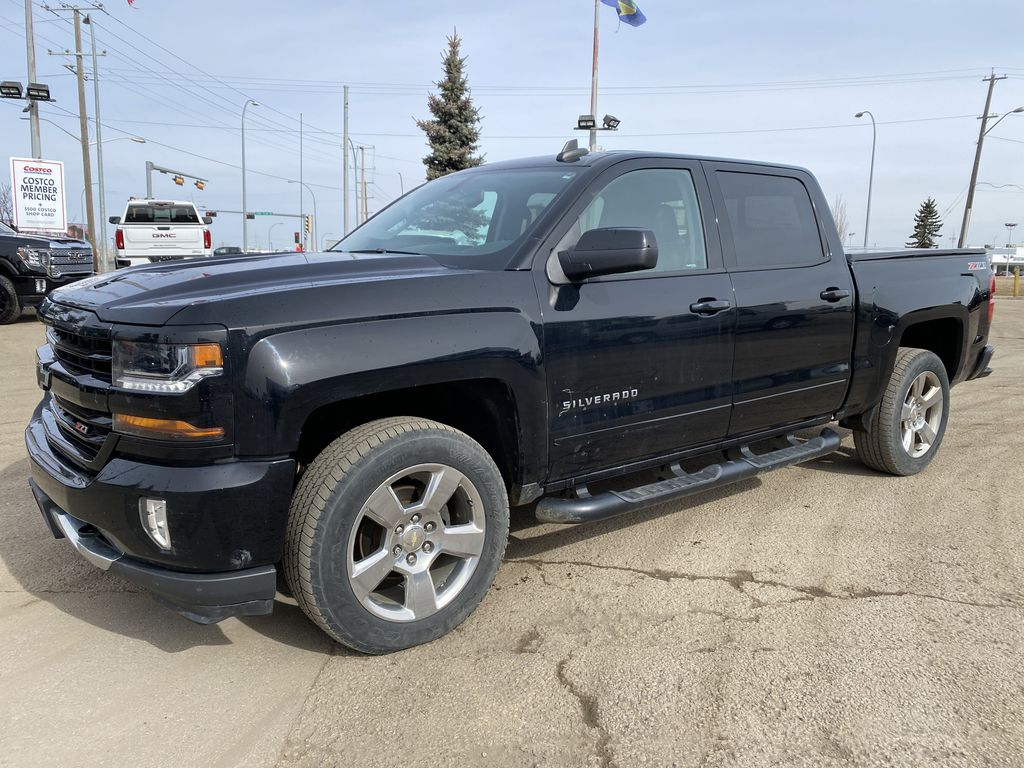 Black[Black] 2017 Chevrolet Silverado 1500 Left Side Photo in Edmonton AB