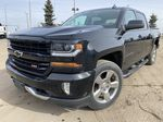 Black[Black] 2017 Chevrolet Silverado 1500 Left Front Corner Photo in Edmonton AB