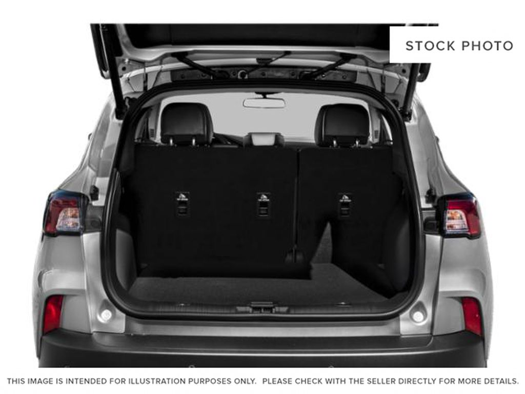 Black[Agate Black Metallic] 2021 Ford Escape Trunk / Cargo Area Photo in Dartmouth NS
