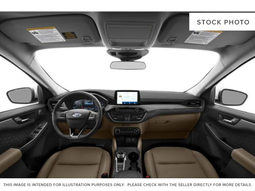 Black[Agate Black Metallic] 2021 Ford Escape Central Dash Options Photo in Dartmouth NS