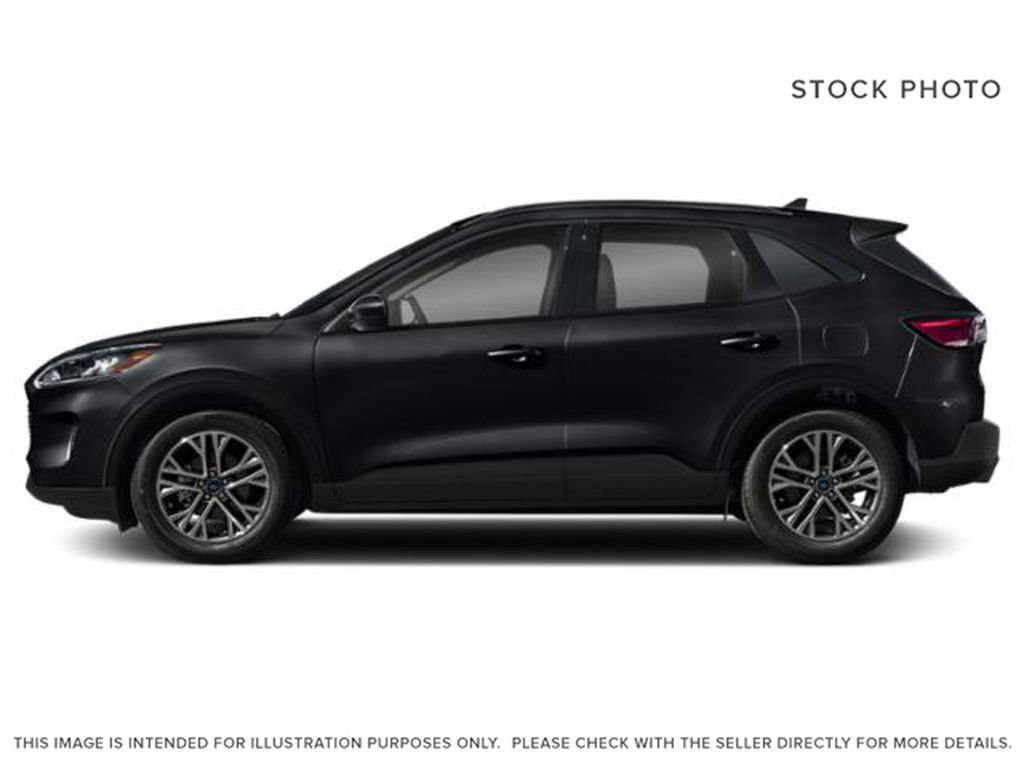 Black[Agate Black Metallic] 2021 Ford Escape Left Side Photo in Dartmouth NS