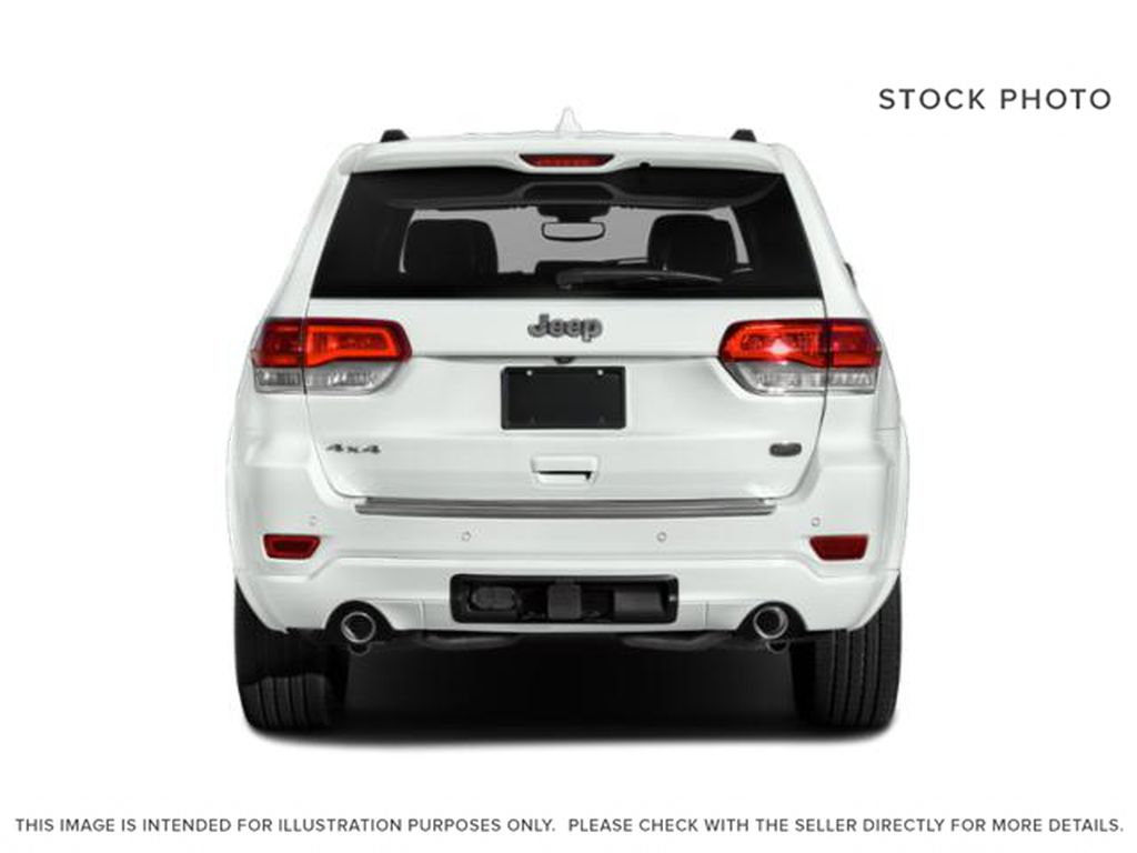 White[Bright White] 2018 Jeep Grand Cherokee Rear of Vehicle Photo in Fort Macleod AB