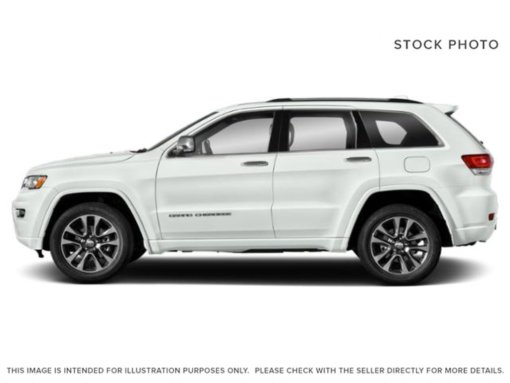 White[Bright White] 2018 Jeep Grand Cherokee Left Side Photo in Fort Macleod AB