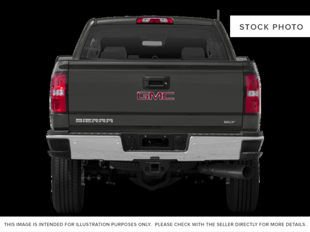 Red[Cardinal Red] 2016 GMC Sierra 2500HD Rear of Vehicle Photo in Fort Macleod AB