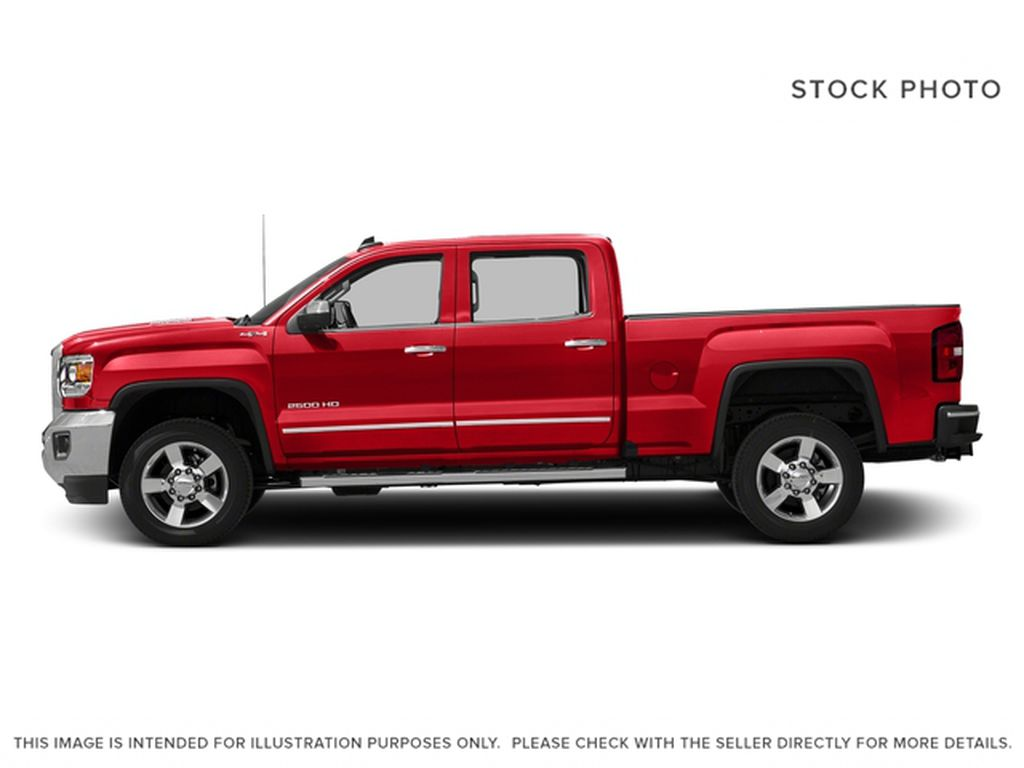Red[Cardinal Red] 2016 GMC Sierra 2500HD Left Side Photo in Fort Macleod AB