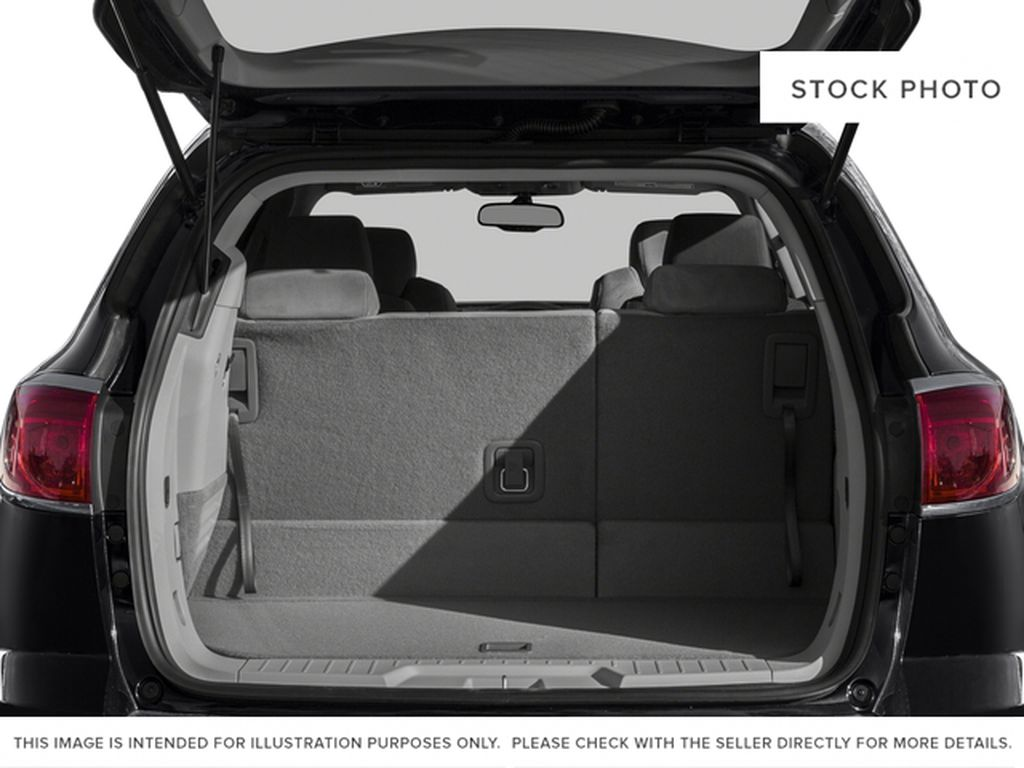 White[Summit White] 2017 Buick Enclave Trunk / Cargo Area Photo in Calgary AB