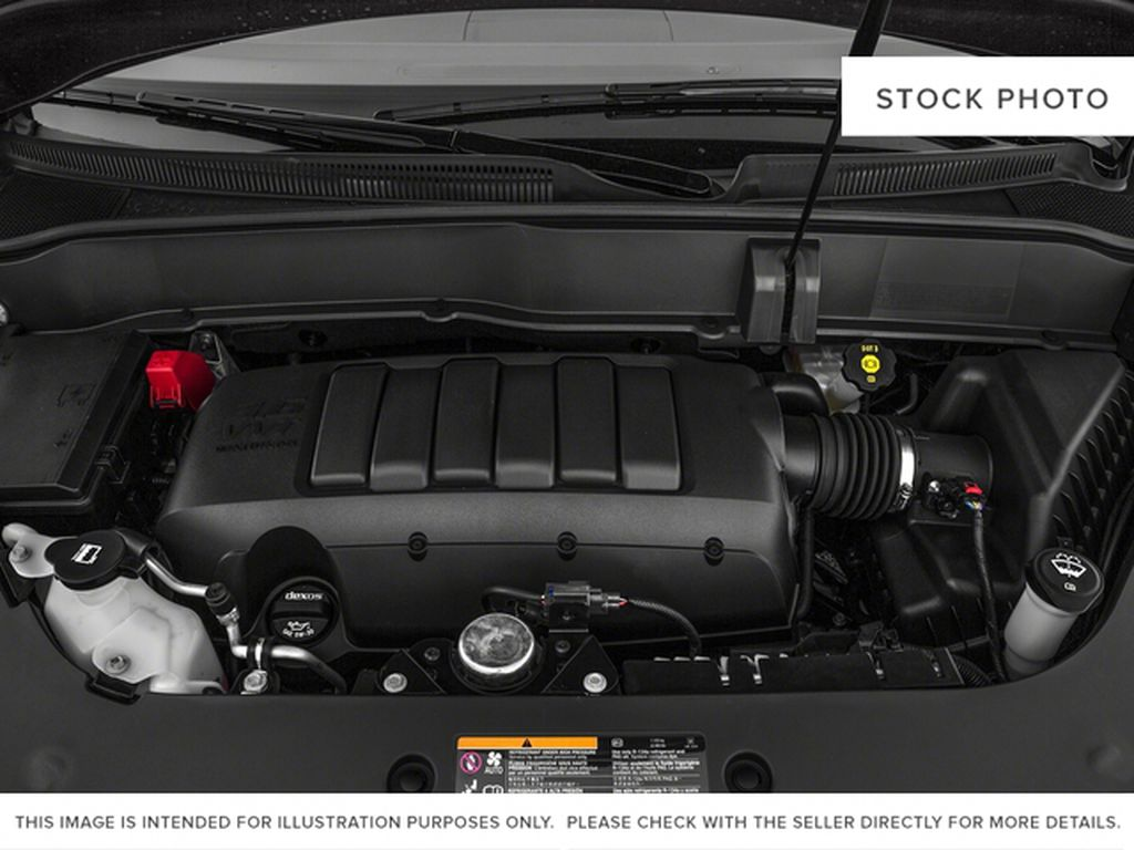 White[Summit White] 2017 Buick Enclave Engine Compartment Photo in Calgary AB