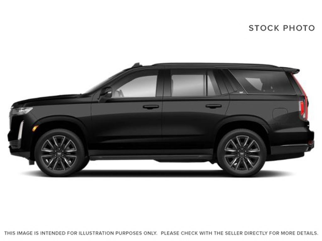 Black[Black Raven] 2021 Cadillac Escalade Left Side Photo in Calgary AB