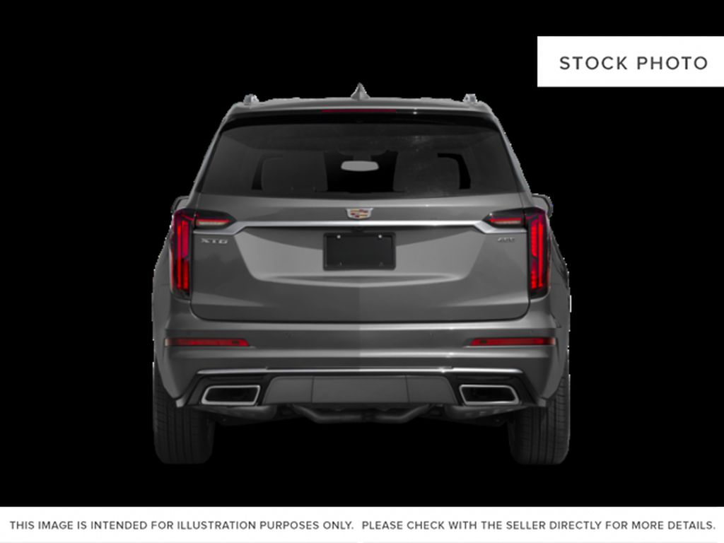 White[Crystal White Tricoat] 2021 Cadillac XT6 Rear of Vehicle Photo in Edmonton AB