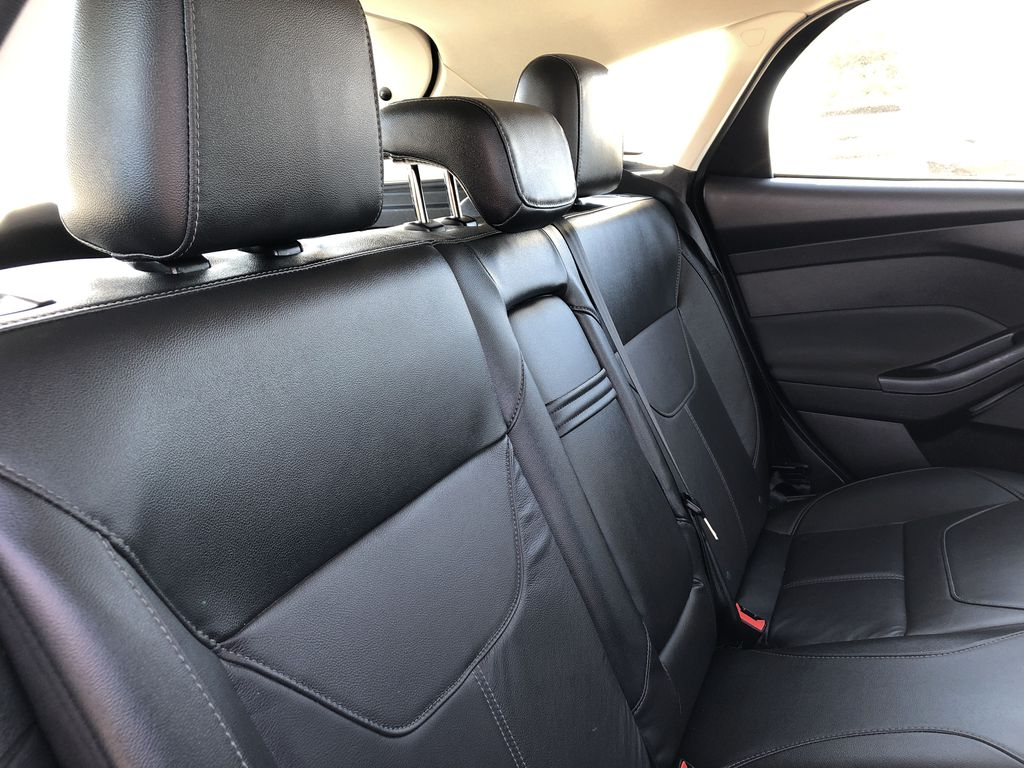 Gray[Magnetic Metallic] 2015 Ford Focus Right Side Rear Seat  Photo in Edmonton AB