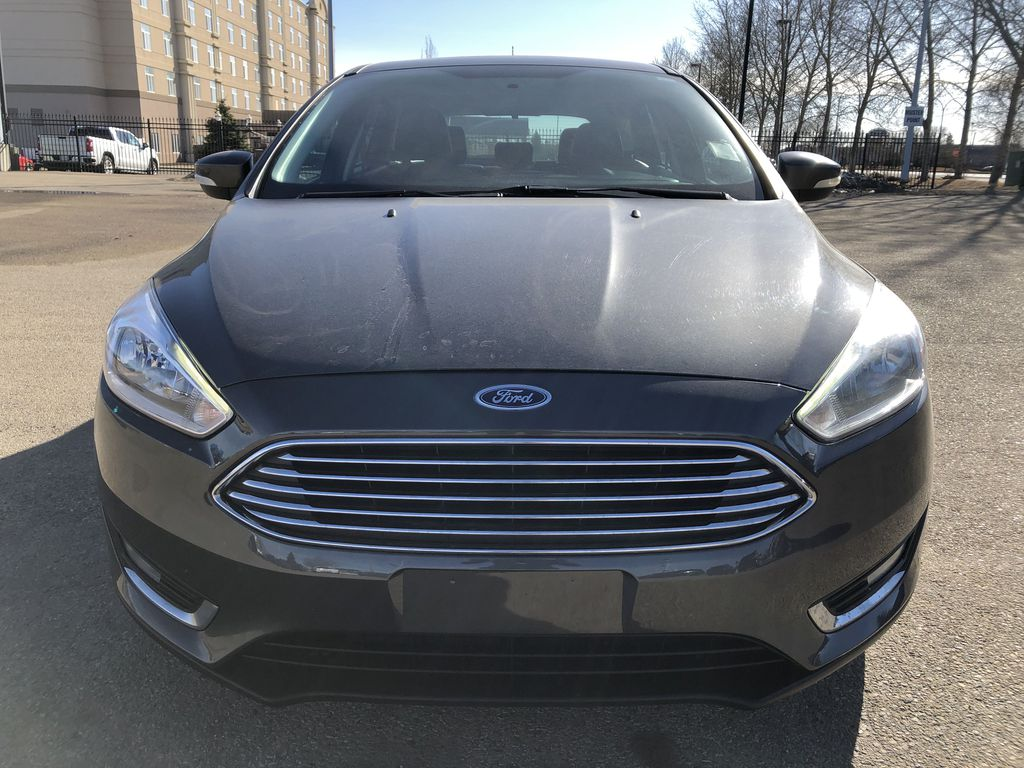 Gray[Magnetic Metallic] 2015 Ford Focus Front Vehicle Photo in Edmonton AB