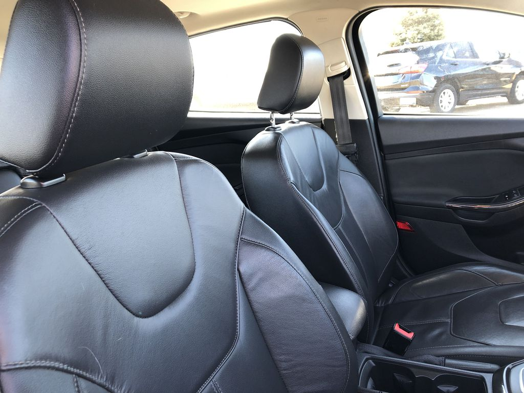 Gray[Magnetic Metallic] 2015 Ford Focus Right Side Front Seat  Photo in Edmonton AB