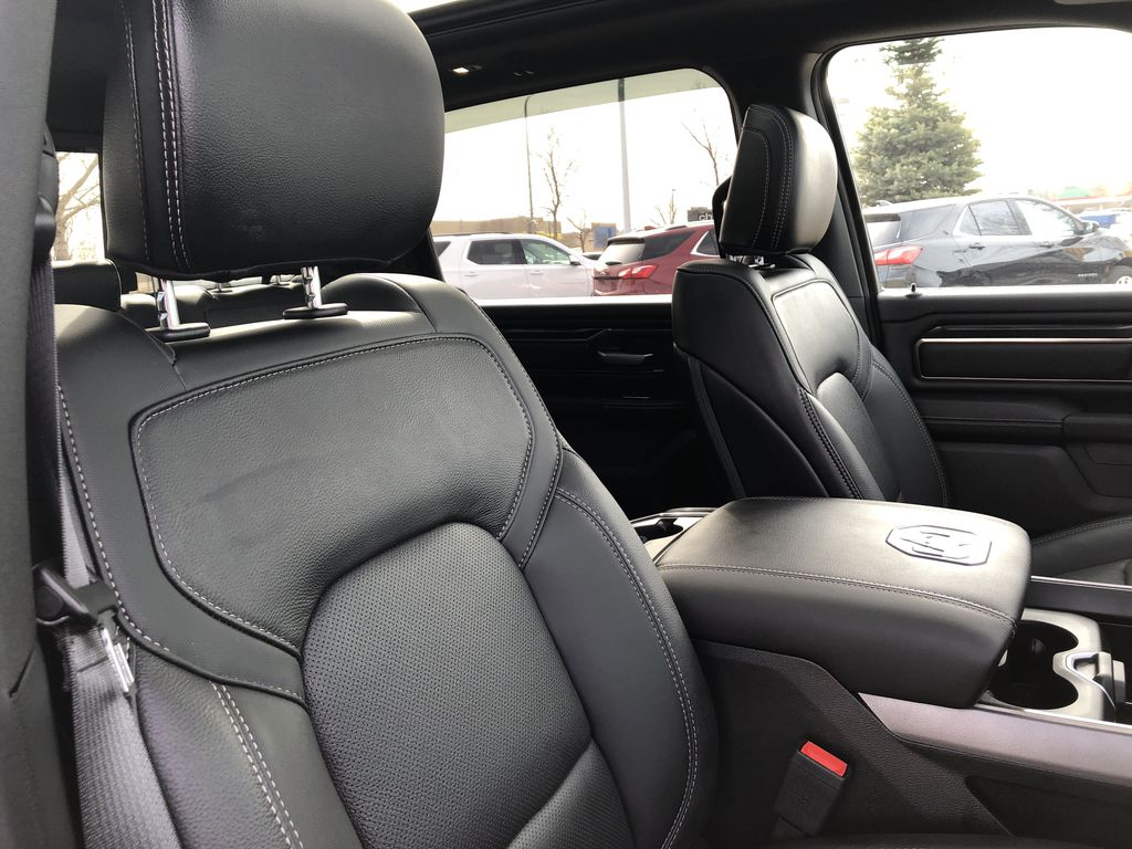 Gray[Granite Crystal Metallic] 2020 Ram 1500 Right Side Front Seat  Photo in Edmonton AB