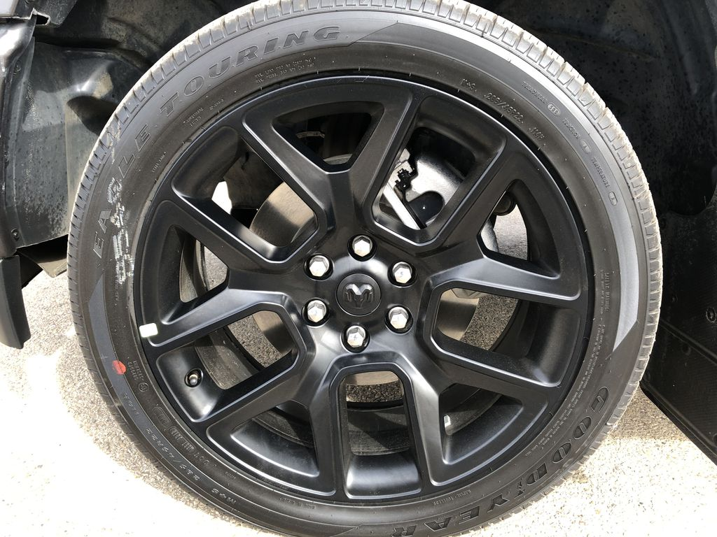 Gray[Granite Crystal Metallic] 2020 Ram 1500 Left Front Rim and Tire Photo in Edmonton AB