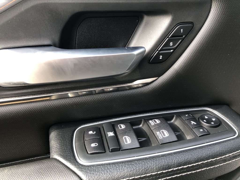 Gray[Granite Crystal Metallic] 2020 Ram 1500  Driver's Side Door Controls Photo in Edmonton AB