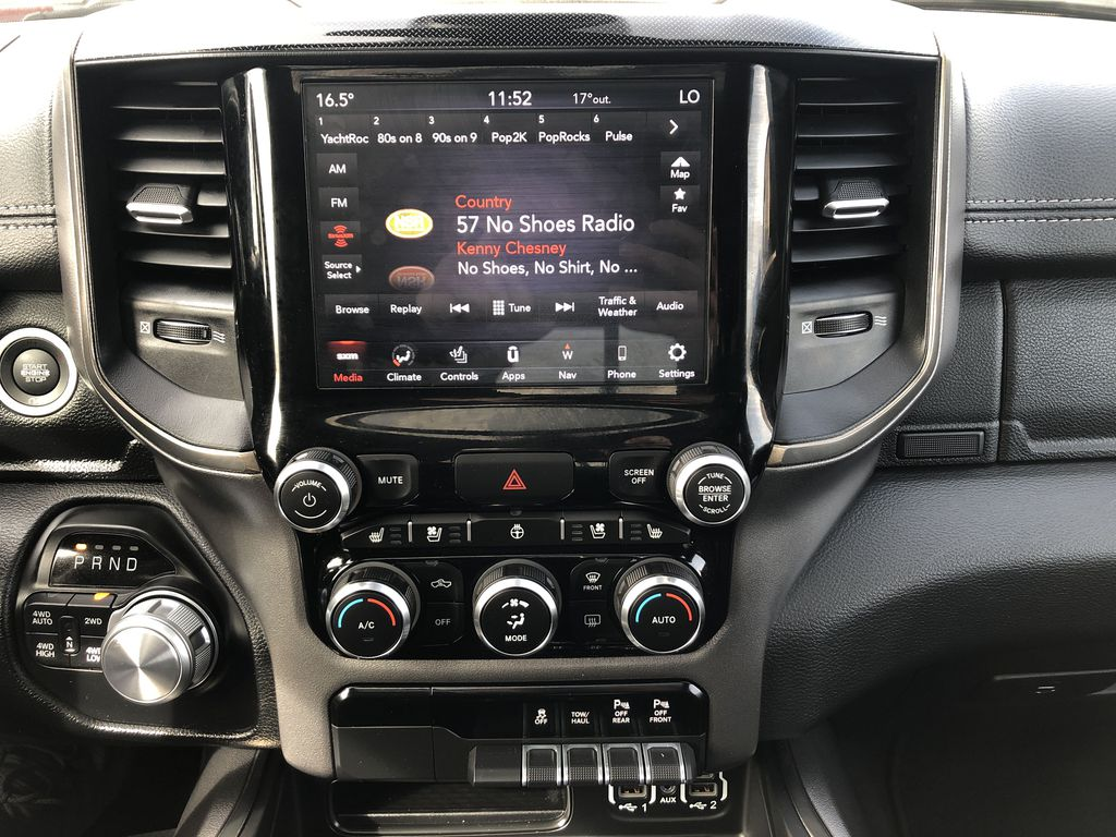 Gray[Granite Crystal Metallic] 2020 Ram 1500 Central Dash Options Photo in Edmonton AB