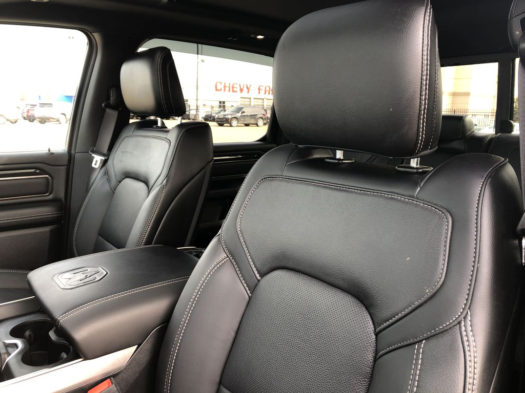 Gray[Granite Crystal Metallic] 2020 Ram 1500 Left Front Interior Photo in Edmonton AB