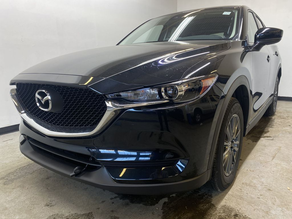 JET BLACK MICA(41W) 2021 Mazda CX-5 GX AWD Left Front Head Light / Bumper and Grill in Edmonton AB