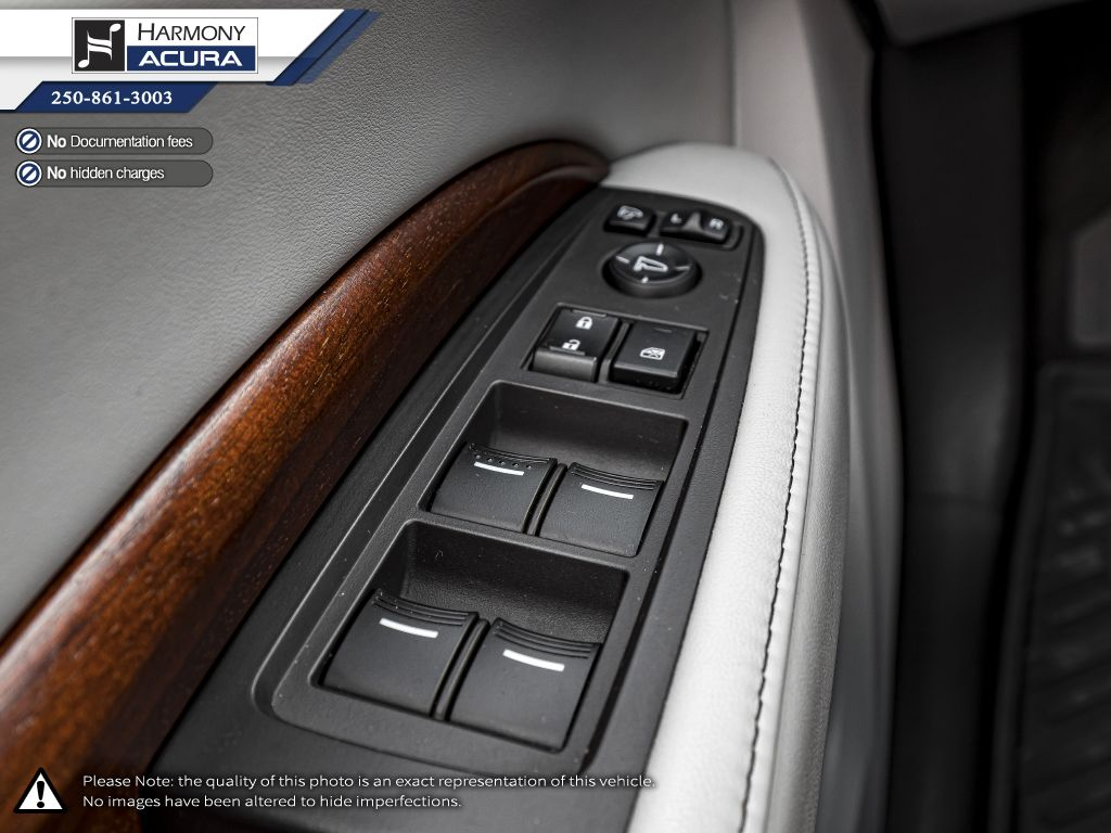 Grey 2017 Acura MDX Central Dash Options Photo in Kelowna BC