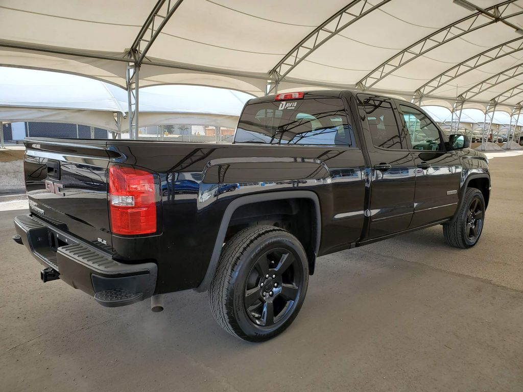 Black 2017 GMC Sierra 1500 Rear of Vehicle Photo in Airdrie AB
