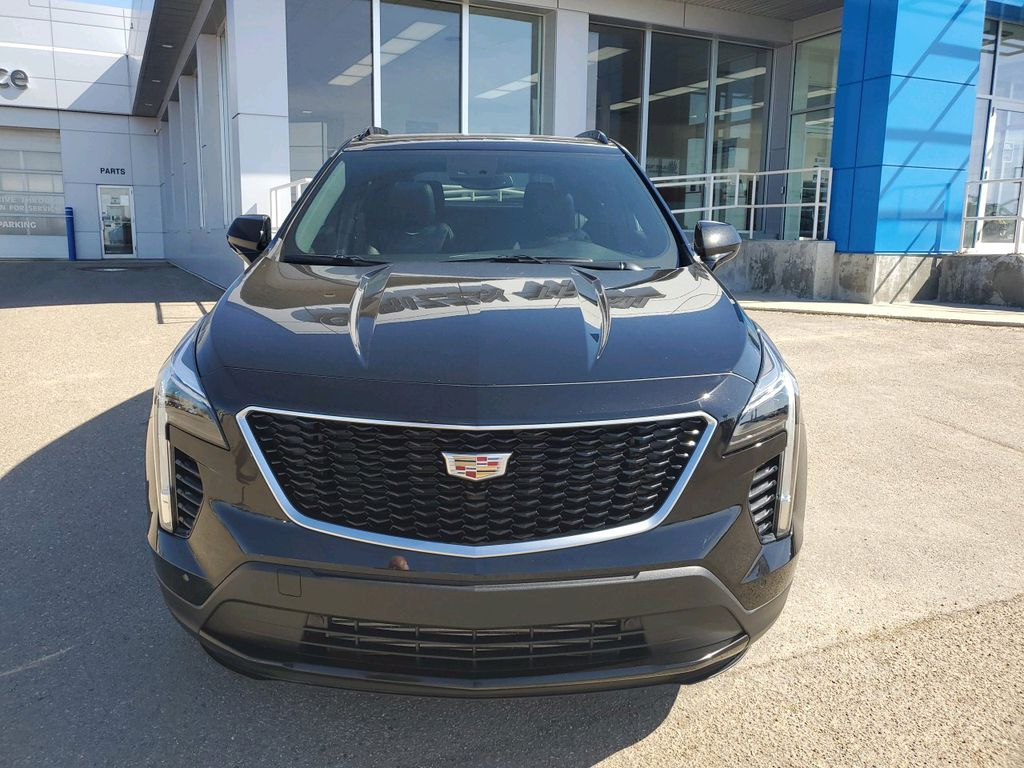 Black 2019 Cadillac XT4 Left Front Corner Photo in Barrhead AB