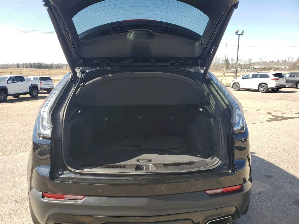 Black 2019 Cadillac XT4 Left Front Interior Photo in Barrhead AB