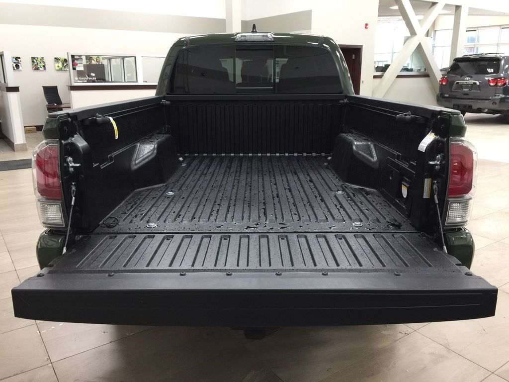 Green[Army Green] 2021 Toyota Tacoma TRD Sport Premium Cargo Area/Rear Seats Photo in Sherwood Park AB