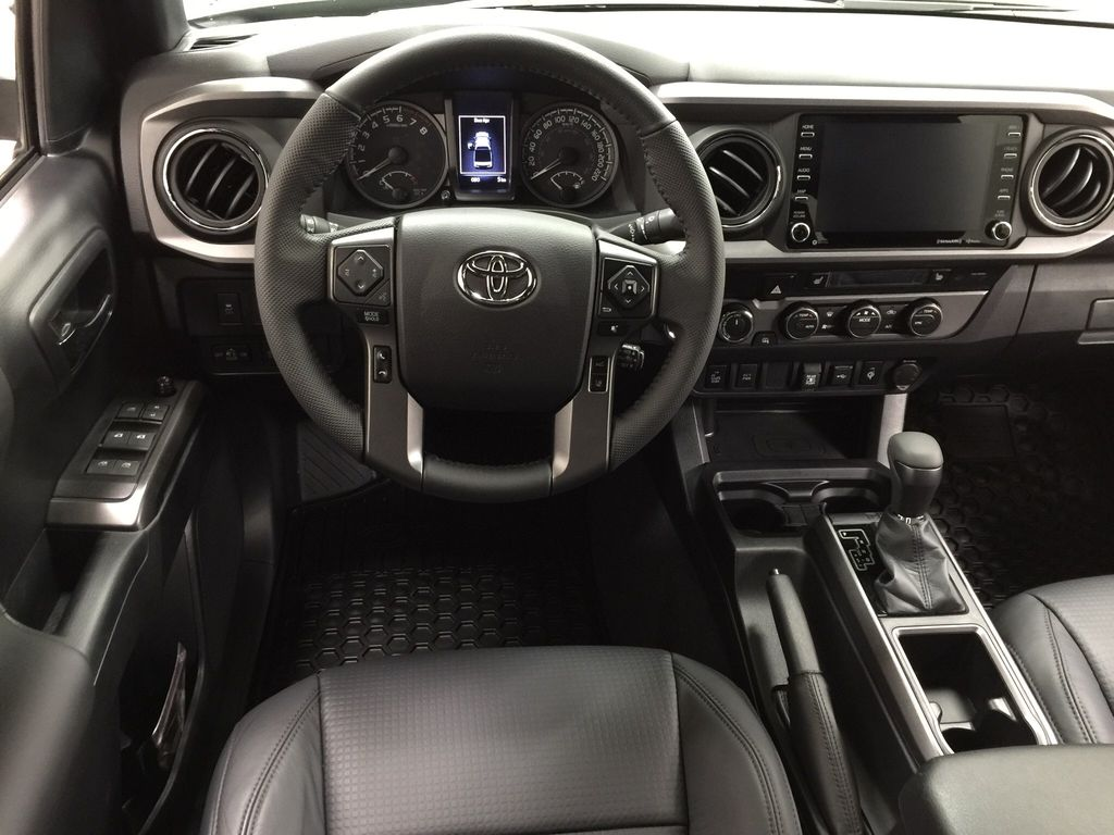 Green[Army Green] 2021 Toyota Tacoma TRD Sport Premium Left Front Seat Photo in Sherwood Park AB