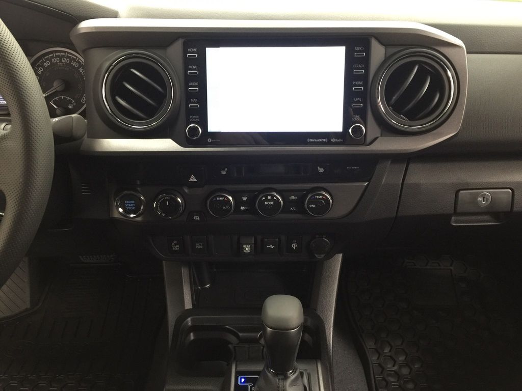 Green[Army Green] 2021 Toyota Tacoma TRD Sport Premium Central Dash Options Photo in Sherwood Park AB