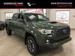 Green[Army Green] 2021 Toyota Tacoma TRD Sport Premium Primary Listing Photo in Sherwood Park AB