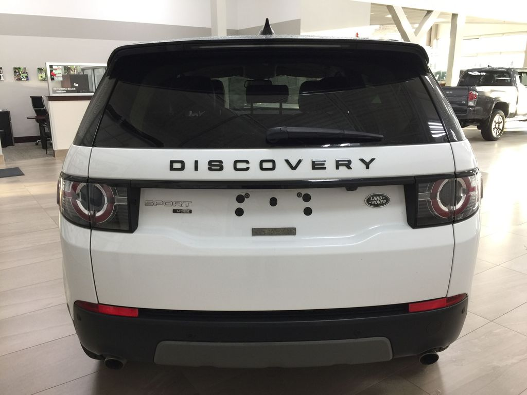 White[Fuji White] 2017 Land Rover Discovery Sport HSE Luxury Rear of Vehicle Photo in Sherwood Park AB