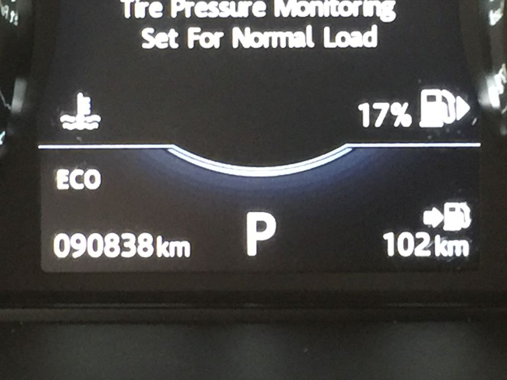 White[Fuji White] 2017 Land Rover Discovery Sport HSE Luxury Odometer Photo in Sherwood Park AB