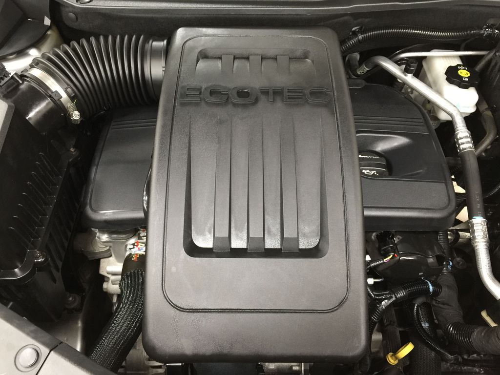 Silver[Silver Ice Metallic] 2016 Chevrolet Equinox LT AWD Engine Compartment Photo in Sherwood Park AB