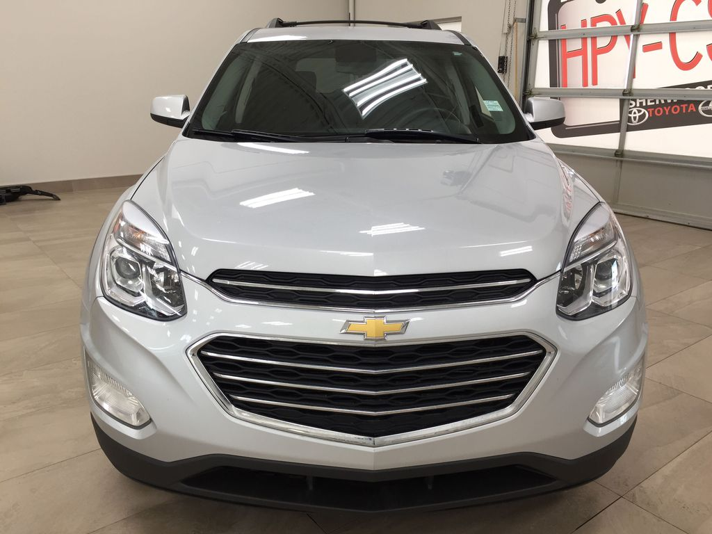 Silver[Silver Ice Metallic] 2016 Chevrolet Equinox LT AWD Front Vehicle Photo in Sherwood Park AB